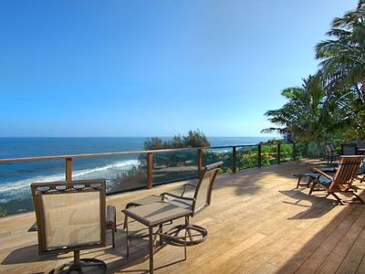 1300 square foot deck with Lanai