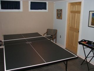 Alburg estate photo - FAMILY PING PONG