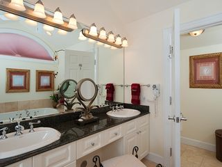 Providenciales - Provo condo photo - Master bath with double vanity