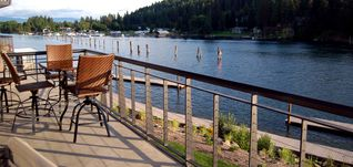 Coeur d 'Alene condo photo - It's always happy hour on the balcony.
