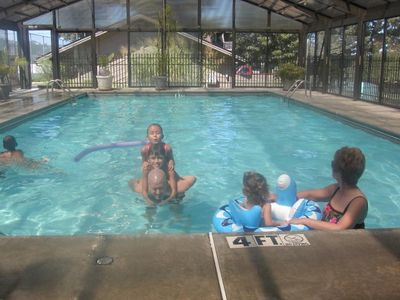 Indoor swimming for the whole family