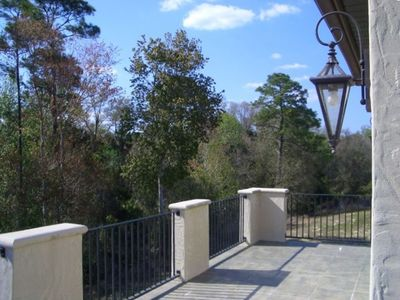 Upper Rear Balcony, Overlooking Private Conservation Area