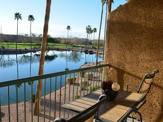 Mesa condo photo - Patio View of Lake