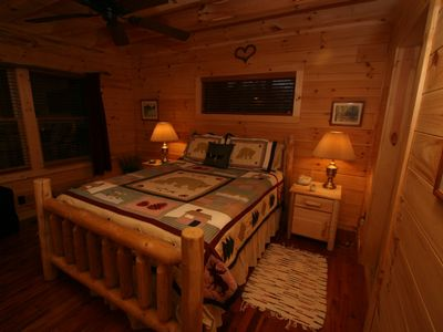 Lake Lure cabin rental - Master Bedroom With Queen