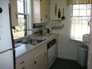 Nantucket Town cottage photo - Galley Kitchen