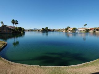Ahwatukee condo photo - Lake across the street from the main entrance