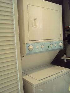 Seawinds condo rental - Washer and Dryer in the unit