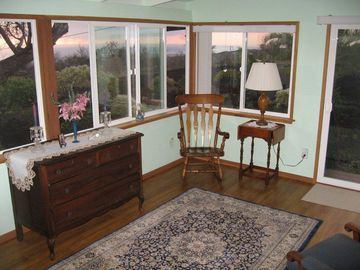 Ocean View house rental - A peaceful room with an ocean view. Relax and admire a great sunrise or sunset