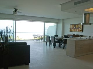 Nuevo Vallarta condo photo - Huge open concept Kitchen/Dining and Living area. High end furnishings.