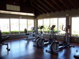 Aruba condo photo - One of two gyms, right out front of our condo