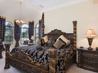 Luxurious Master suite with own private lounge area