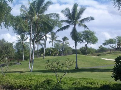 Keauhou Golf Course, the ocean course.