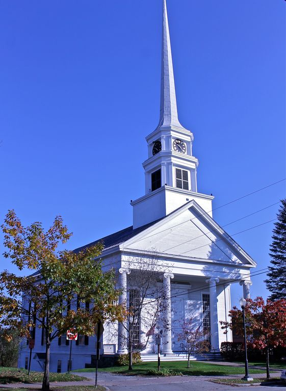 Stowe community church downtown