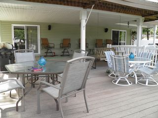 Osage Beach house photo - Lots of space for all your Family and Friends! Bose system outside.