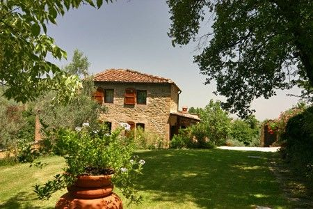 Charming tuscany cottage with pool and homeaway monte for Tuscany villas
