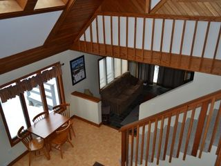 North Conway house photo - View from Loft Area
