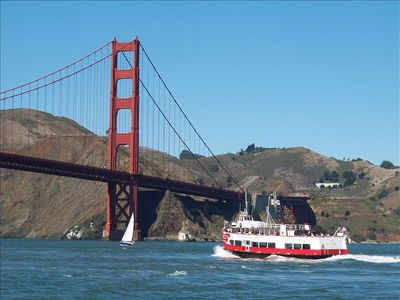 Visit Beautiful San Francisco, Day Trip! Only 1.5 hours to the Golden Gate!