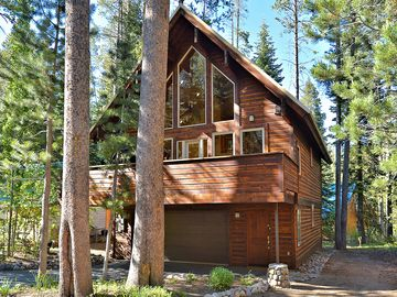 Donner Lake house rental - Exterior Front - Our house is as impressive on the outside as it is on the inside.