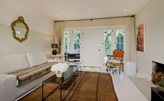 West Hollywood villa photo - living room, designer furnishings
