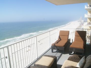 Gulf Shores condo rental - Beautiful unobstructed view and plush balcony furniture!!! View 09 units only!!