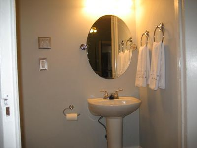 Half Bath/Powder room off 2nd bedroom