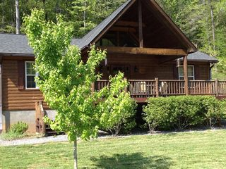 Hayesville cabin photo - Spacious well equipped kitchen/great room