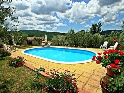 Popular holiday home for 8 persons, with swimming pool, in Pisa
