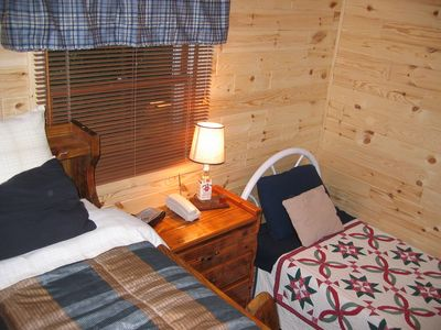 Gaylord chalet rental - Downstairs Bedroom 2