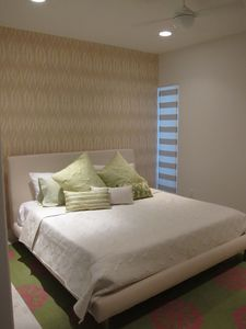 Master Bedroom with King Bed and Tempurpedic mattress