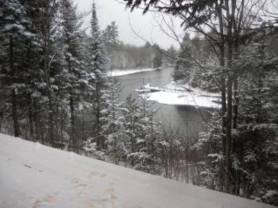Winter view from deck!