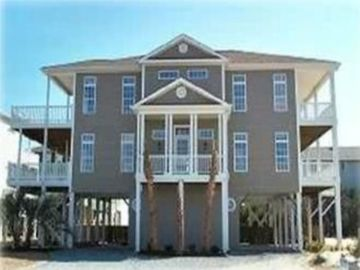 Ocean Isle Beach house rental - 'WINE NOT!' 5 Bedroom/7Bath Home