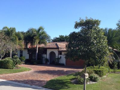 West Naples house rental - Pine Grove Lane is a quiet, residential street with little traffic.