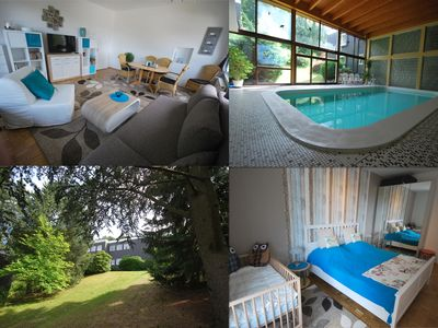 "Modern, cozy, bright apartments with swimming pool, sauna, WiFi up to 5 P - Wohnung ""Talblick"""
