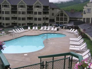 Lincoln townhome photo - Outdoor Pool @ Loon Mountain Club FREE Access For Our Guests