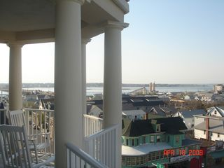 Belmont Towers Ocean City condo photo - Balcony facing East