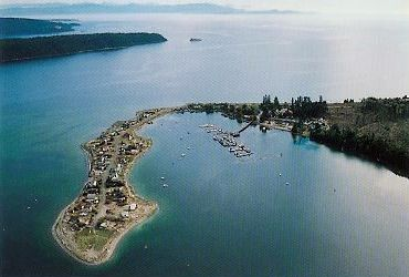 Aerial View of  Deep Bay and surrounding area