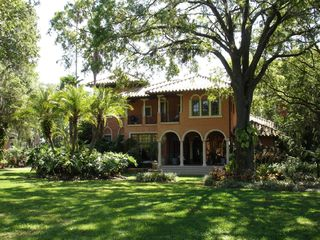 Tampa house photo - Front of Villa Del Lago where wedding ceremonies have taken place