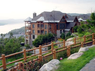 Mont Tremblant condo rental - View of the gated resort