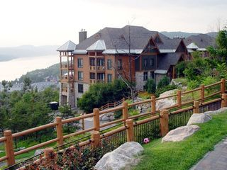 Mont Tremblant condo photo - View of the gated resort