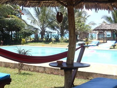Kenya Coast villa rental - part of front garden