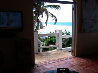 Vieques Island villa photo - Ocean front, walk to the ferry