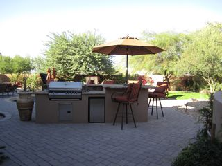 Scottsdale house photo - Can you smell the sizzling steaks?