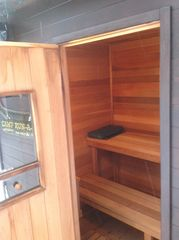 Mackinaw City cabin photo - Sauna Interior