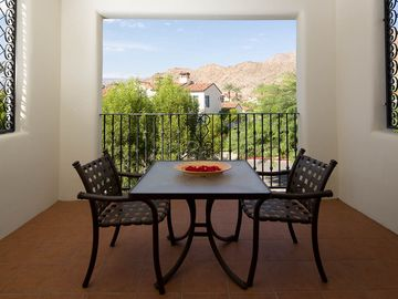 La Quinta condo rental - Our private King Suite balcony looks out to the mountains.