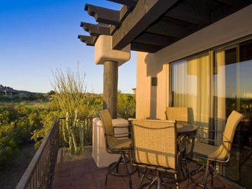Scottsdale Troon house rental - 5 Star VIews of the patio of your private casita