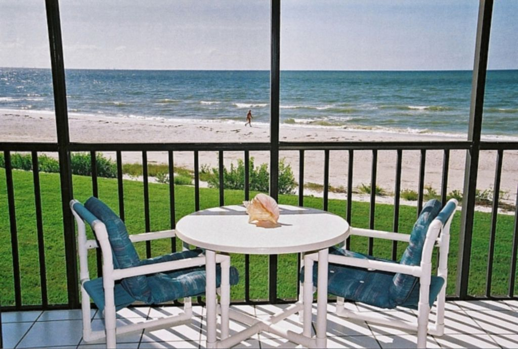 Actual balcony view private 25 ft balcony - 20 bedroom vacation rentals florida ...