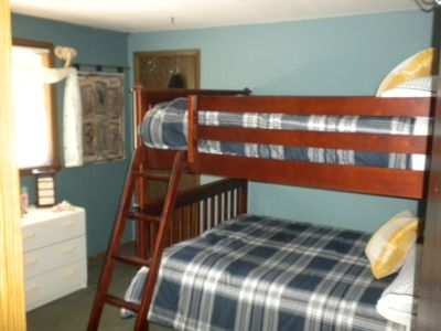 Upper Guest Bedroom w/Full size Bunk Beds