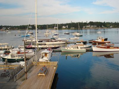 Access to our kayaks, row boats, barbeque grills, decks and docks 1/2 mile away