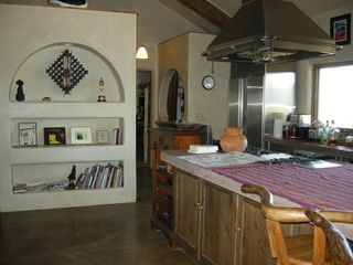 Taos house photo - Another View of Kitchen with Breakfast Bar