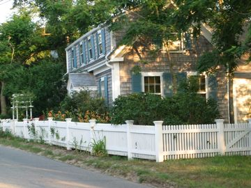 Wellfleet house rental - View of the house from the street